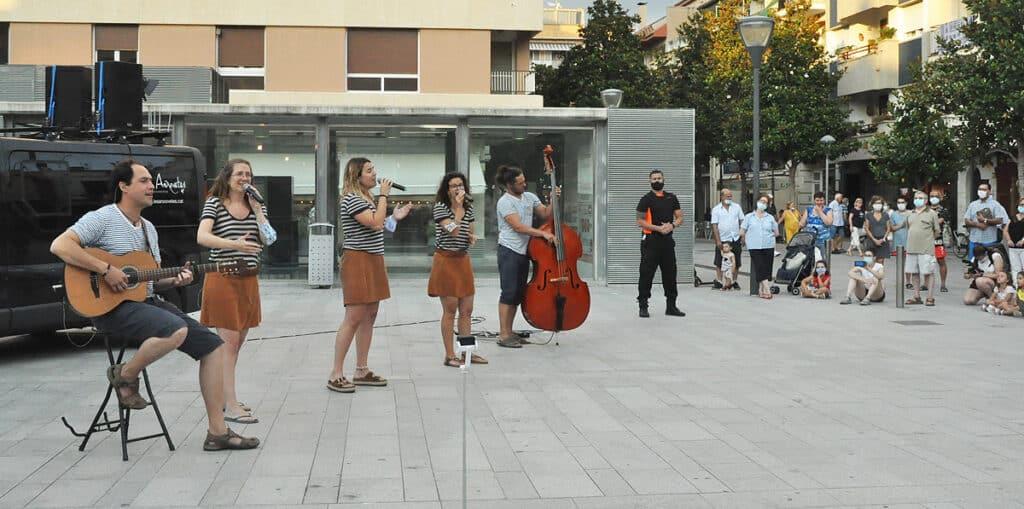 havaneres itinerants, concert itinerant, música itinerant
